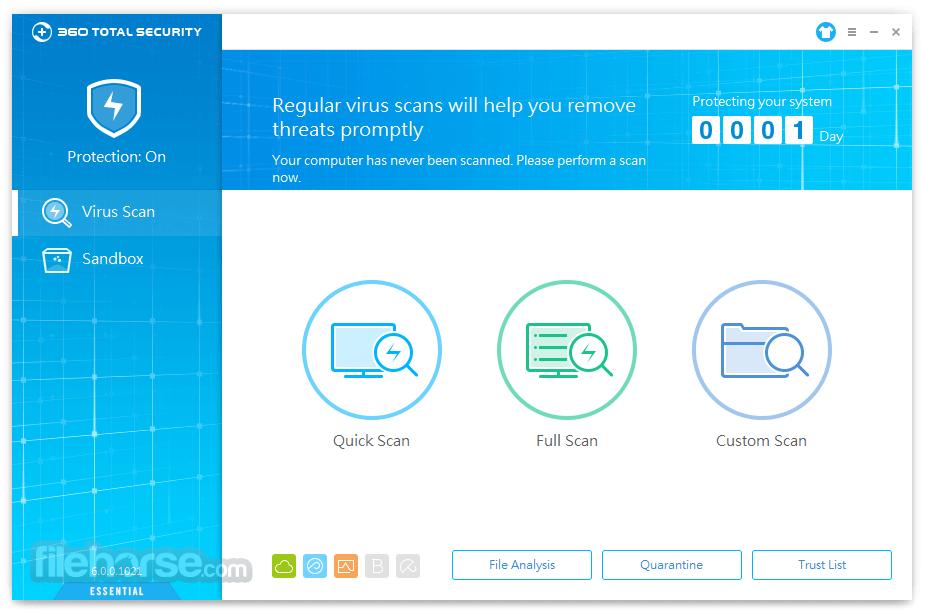 360 Total Security Essential Screenshot