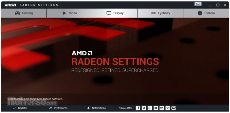 AMD Radeon Adrenalin (Windows 10 64-bit) Screenshot