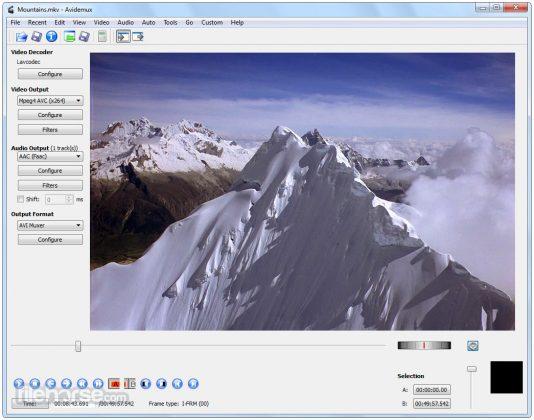 Avidemux (32-bit) Screenshot