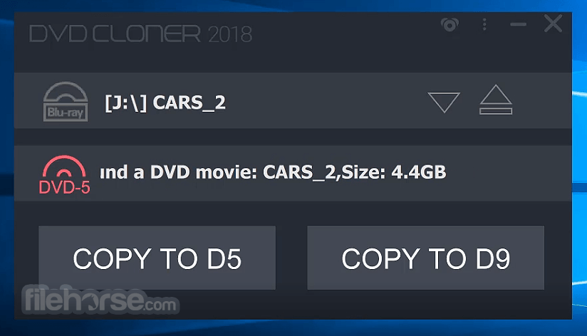 DVD-Cloner (64-bit) Screenshot