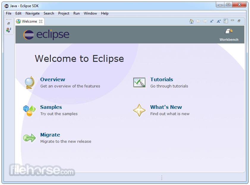 Eclipse (64-bit) Screenshot