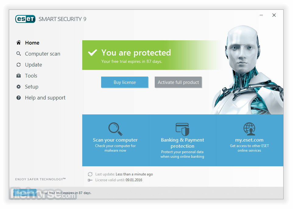 ESET Smart Security (64-bit) Screenshot