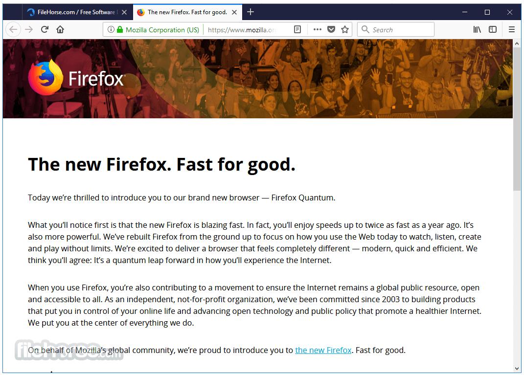 Firefox (64-bit) Screenshot