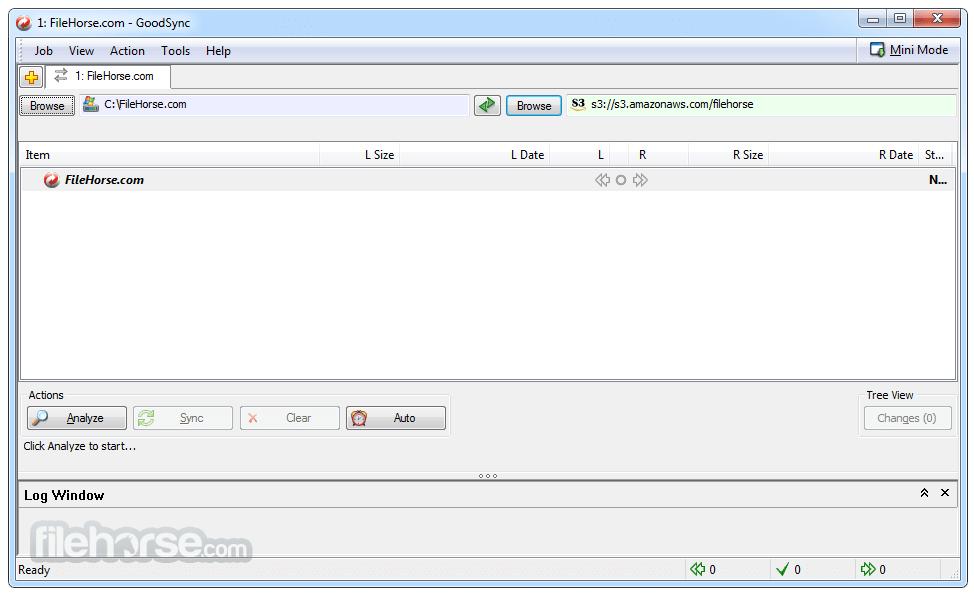 GoodSync Screenshot