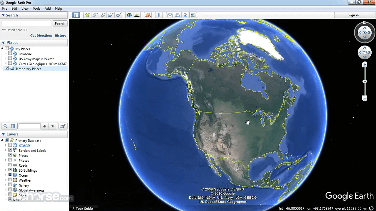 Google Earth Pro Screenshot