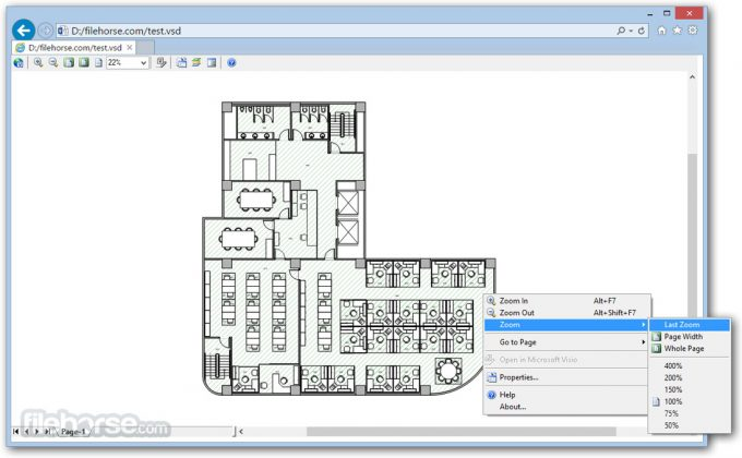 Microsoft Visio Viewer (64-bit) Screenshot