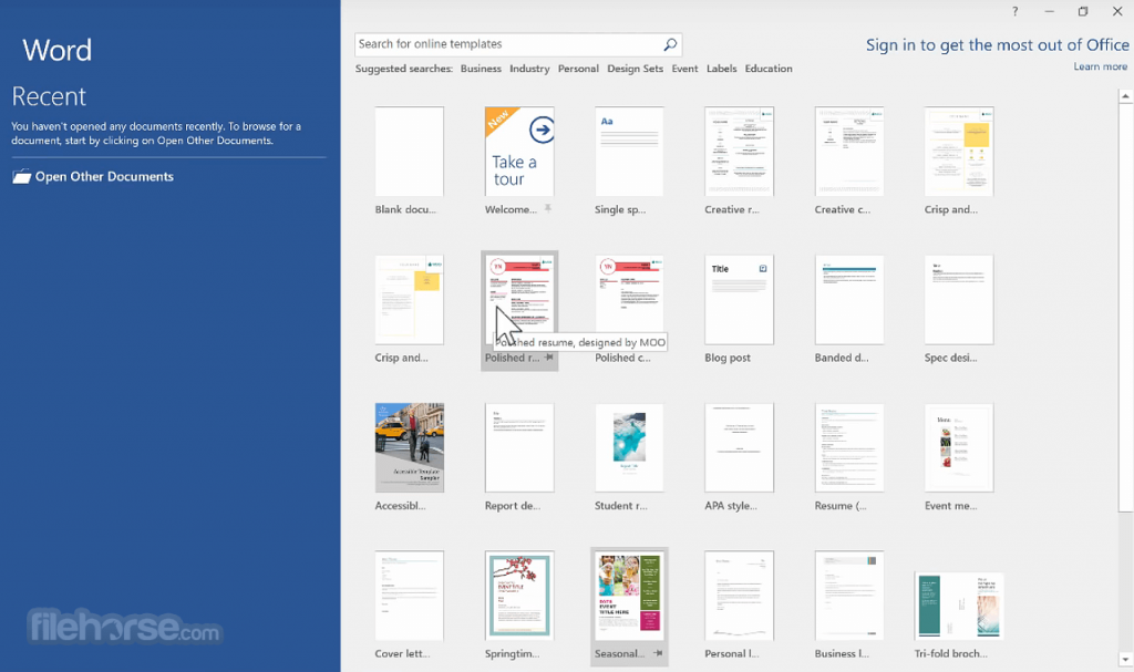 Download Microsoft Word 2019 Free Latest Apps for Windows 10