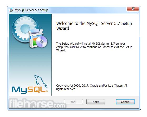 MySQL (64-bit) Screenshot