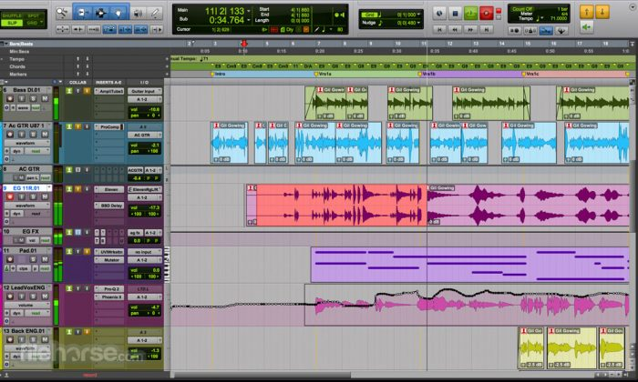 Pro Tools Screenshot