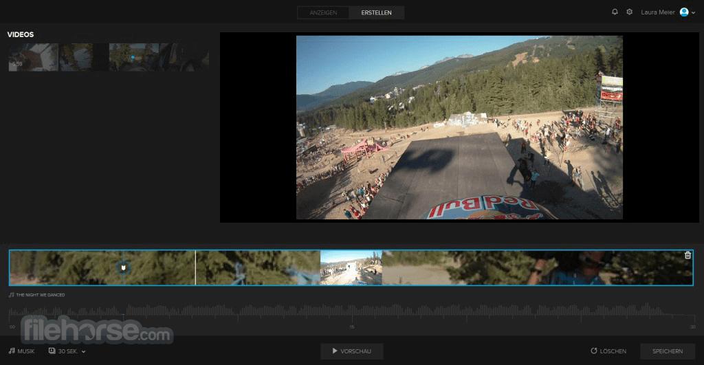 GoPro Quik Desktop Screenshot