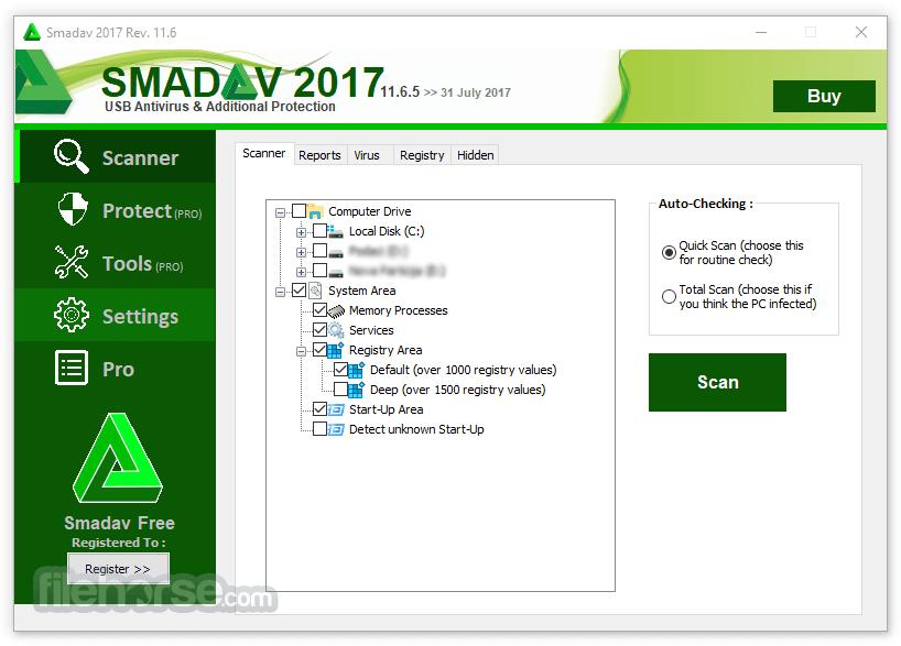 Smadav Antivirus Screenshot