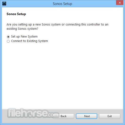 Sonos Screenshot