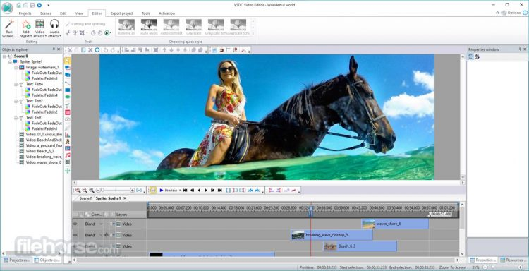 VSDC Free Video Editor (32-bit) Screenshot