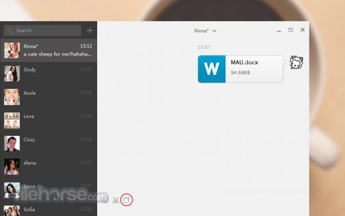 WeChat for PC Screenshot
