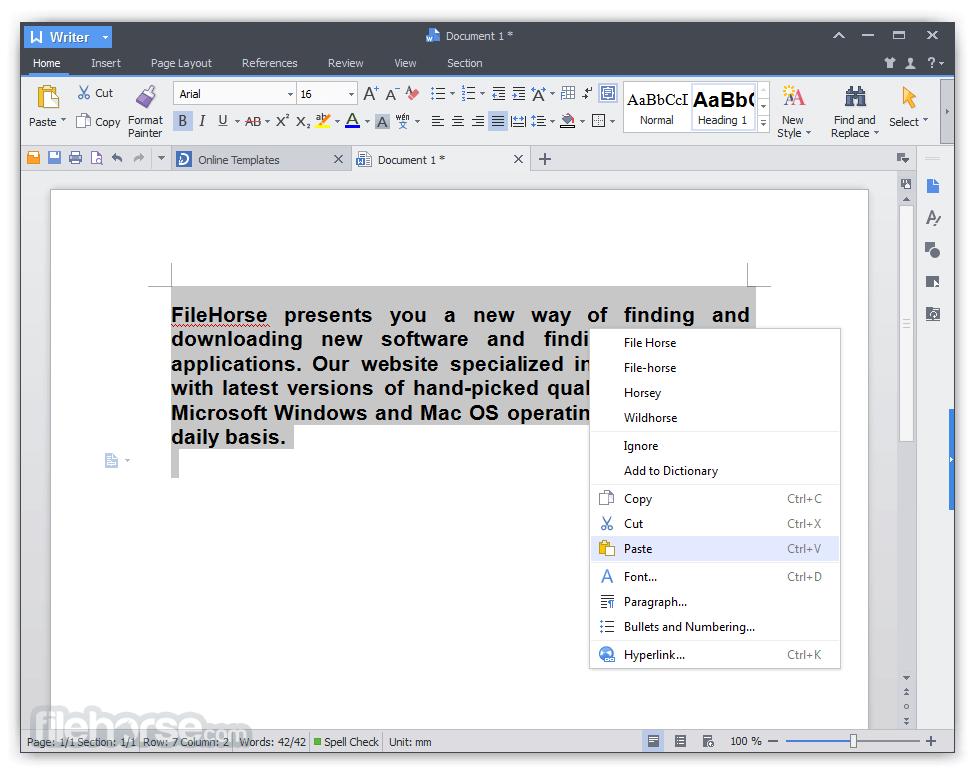 WPS Office Pro Screenshot
