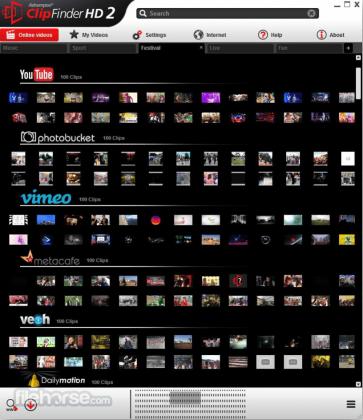 Ashampoo ClipFinder HD Screenshot