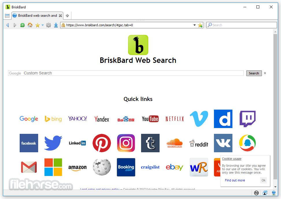 BriskBard Screenshot
