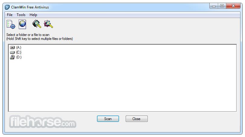 ClamWin Antivirus Screenshot