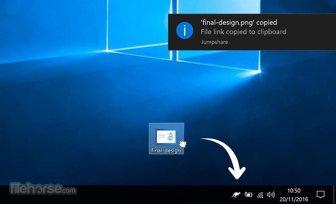 Jumpshare Screenshot