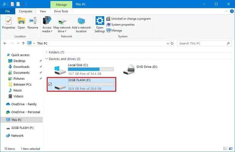 How to Transfer Files from Flash Drive to Windows 10